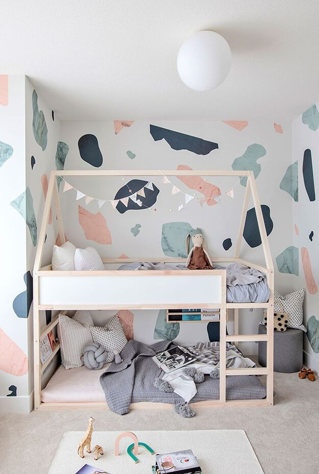 Inspiring Kids Room Design Ideas 42