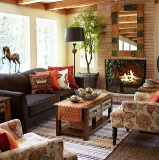 The Best Bohemian Farmhouse Decorating Ideas For Your Living Room 15