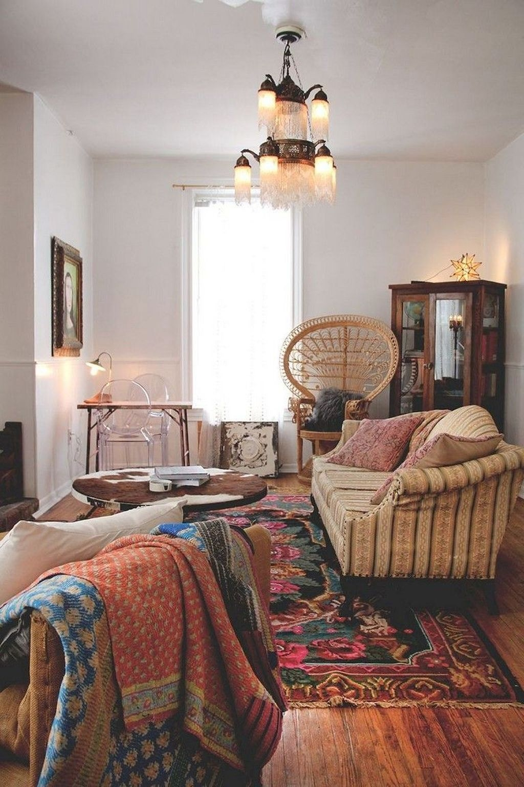The Best Bohemian Farmhouse Decorating Ideas For Your Living Room 24