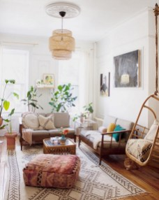 The Best Bohemian Farmhouse Decorating Ideas For Your Living Room 34