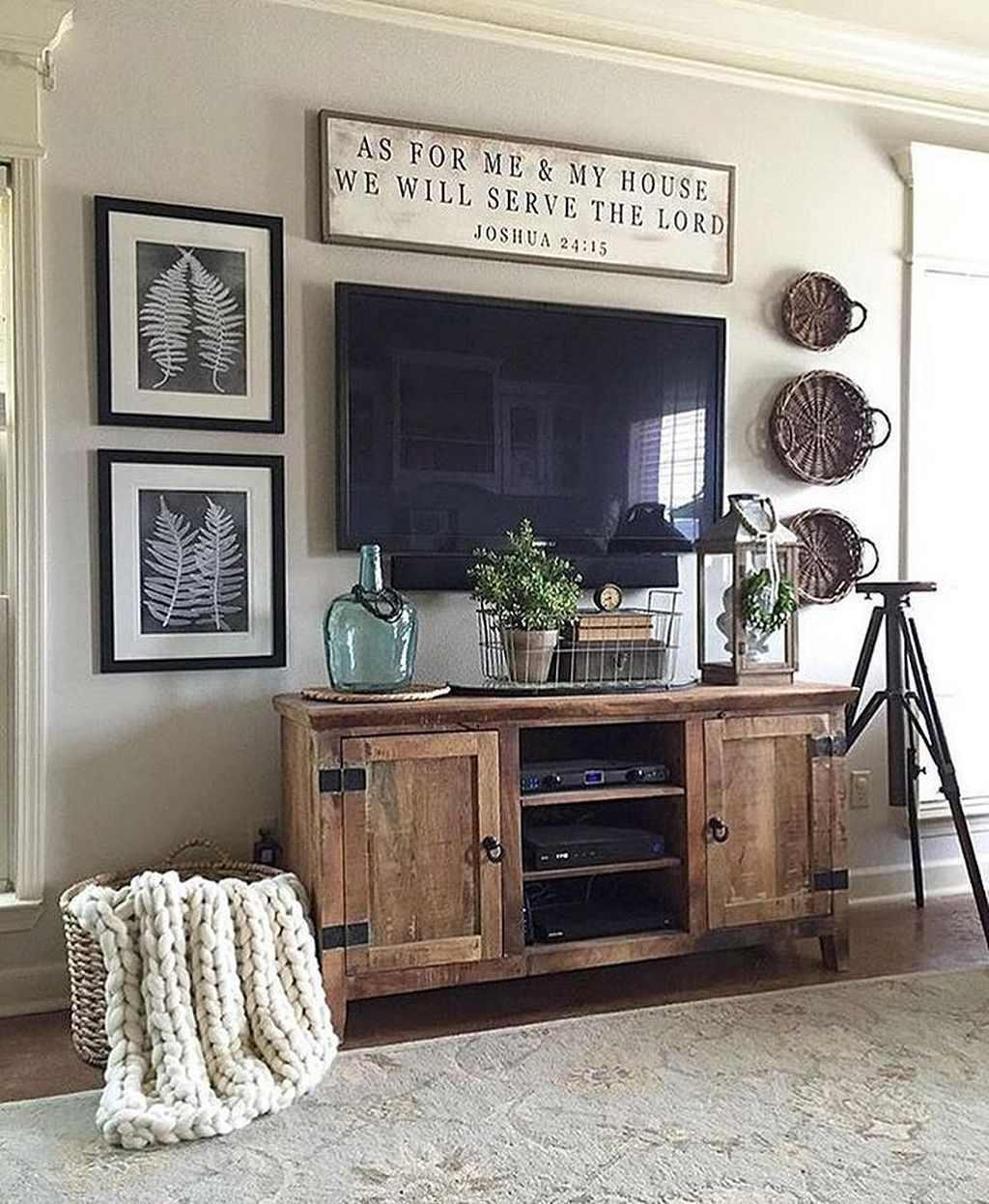 The Best Bohemian Farmhouse Decorating Ideas For Your Living Room 43