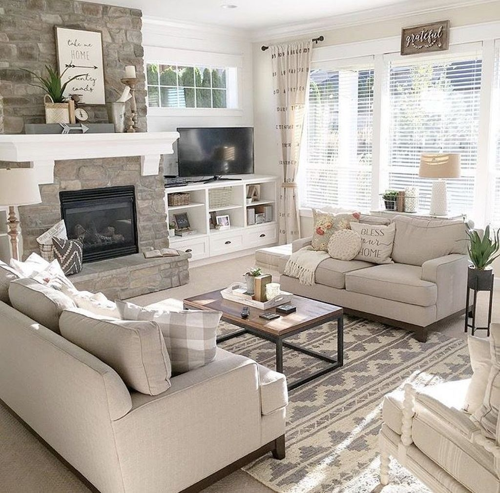 The Best Living Room Decorating Ideas Trends 2019 37