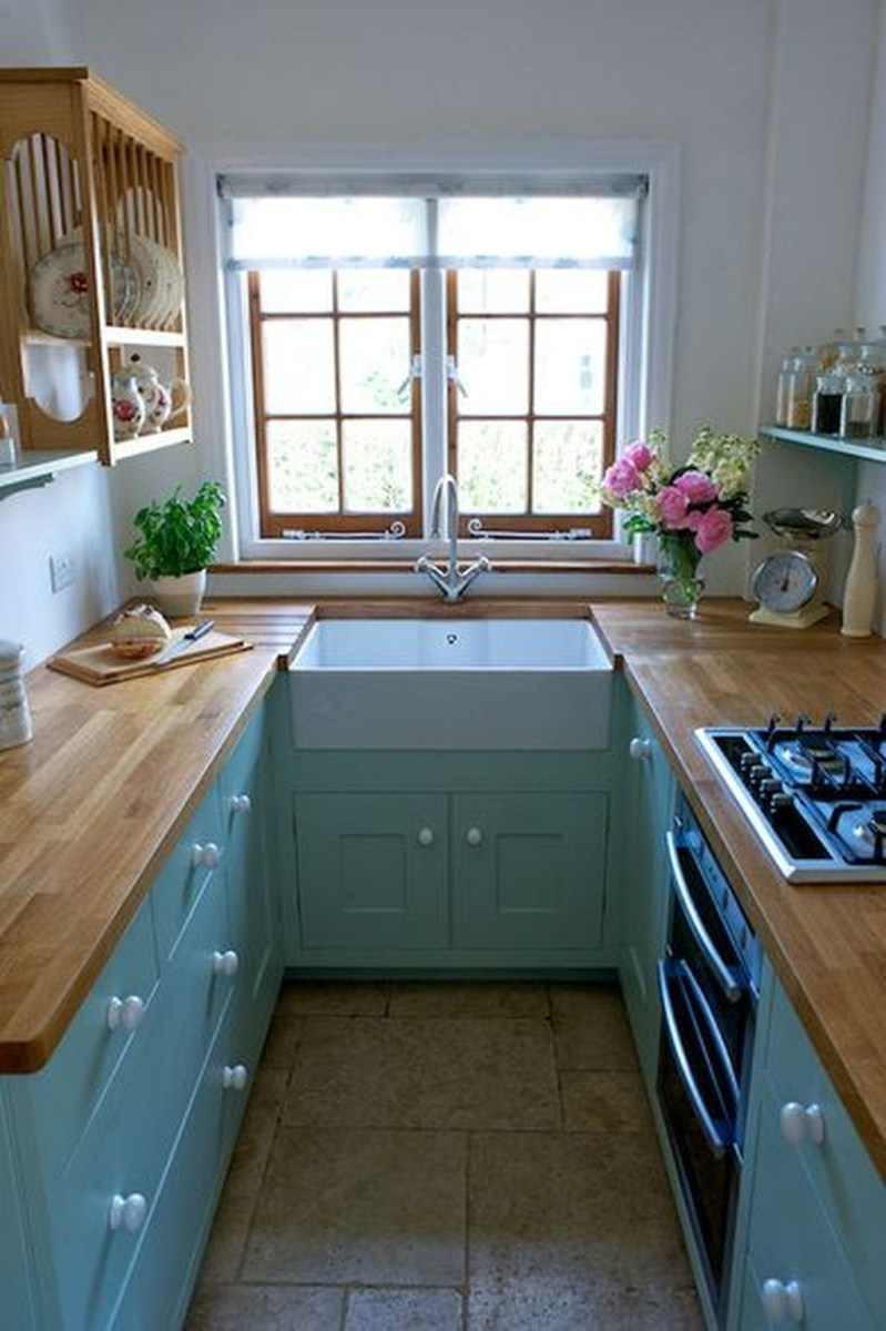 Totally Inspiring Small Kitchen Design Ideas For Your Small Home 32