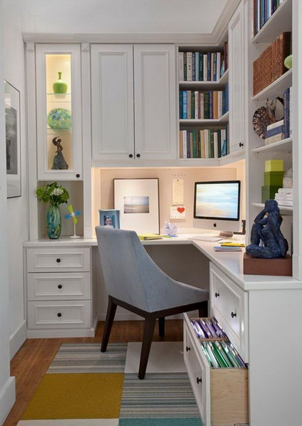 Inspiring Home Office Design Ideas 26
