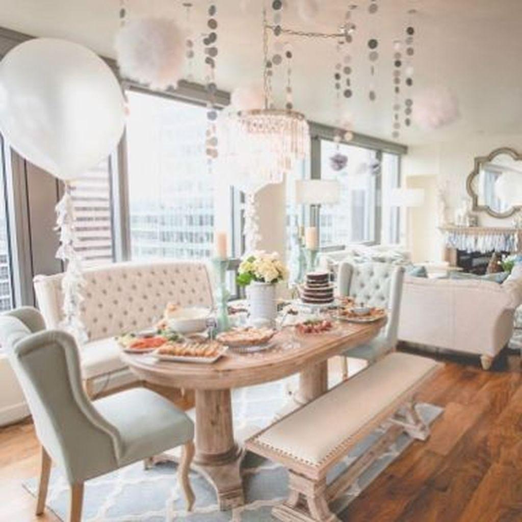 Lovely Easter Living Room Decor Ideas 20
