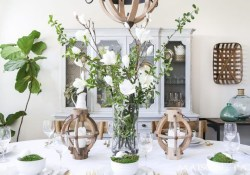 Lovely Easter Living Room Decor Ideas 43
