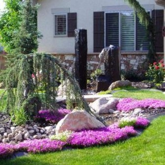 Lovely Small Flower Gardens And Plants Ideas For Your Front Yard 16