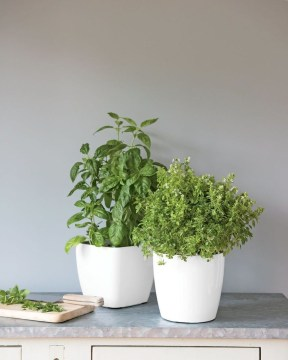 Stunning Small Planters Ideas To Maximize Your Interior Design 36