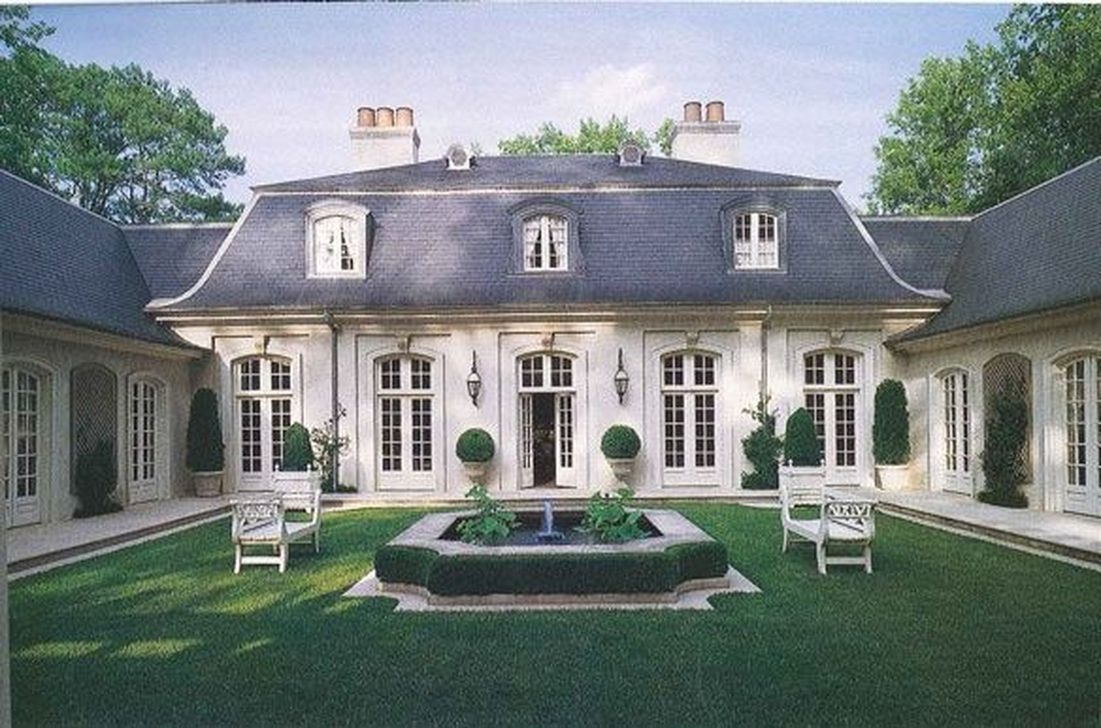 Stylish French Country Exterior For Your Home Design Inspiration 15