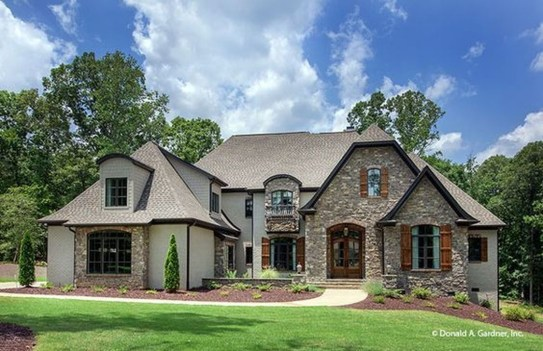 Stylish French Country Exterior For Your Home Design Inspiration 35