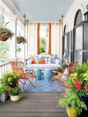 The Best Spring Porch Decoration Ideas 11