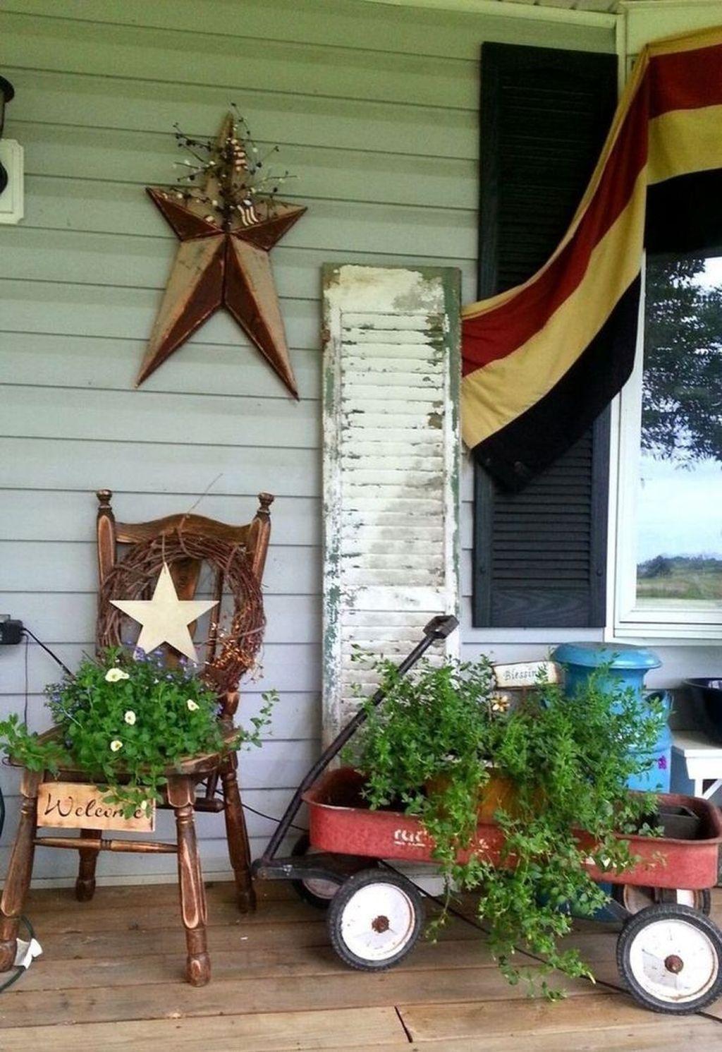 The Best Spring Porch Decoration Ideas 23