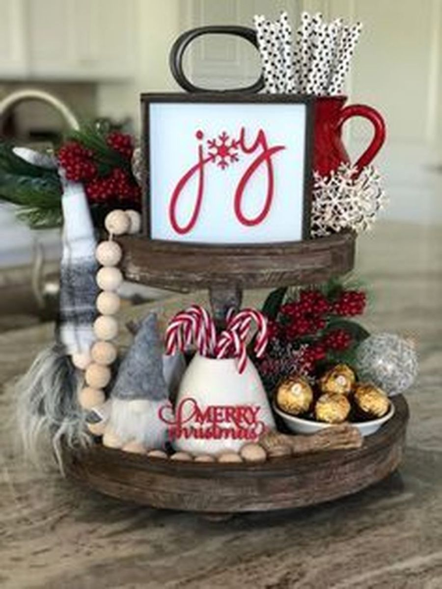 Amazing Christmas Decor For Kitchen Table 13