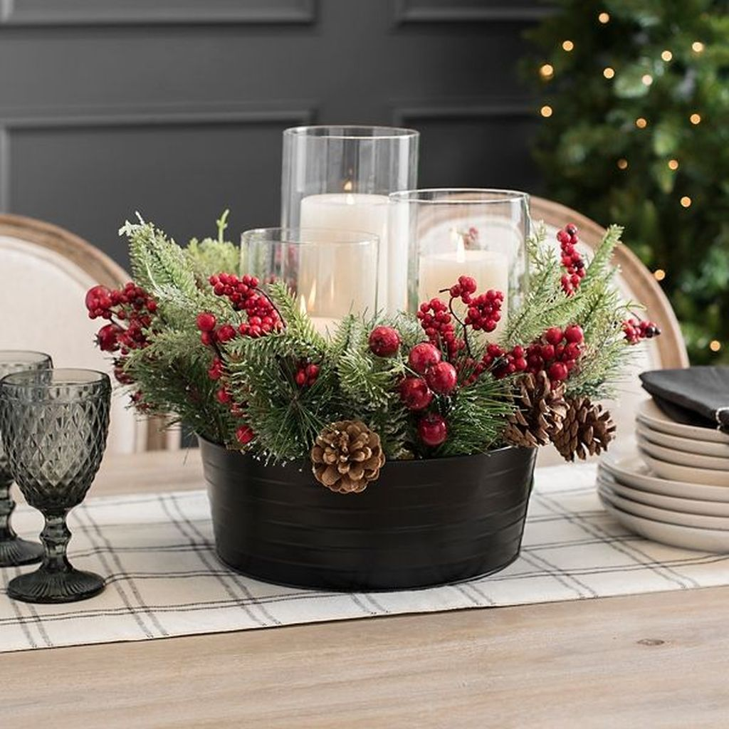 Amazing Christmas Decor For Kitchen Table 29