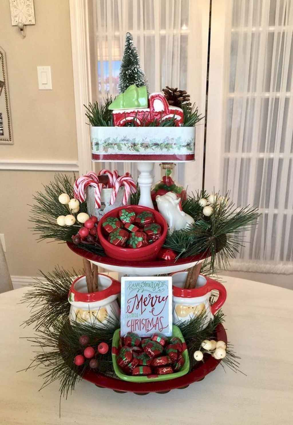Amazing Christmas Decor For Kitchen Table 34