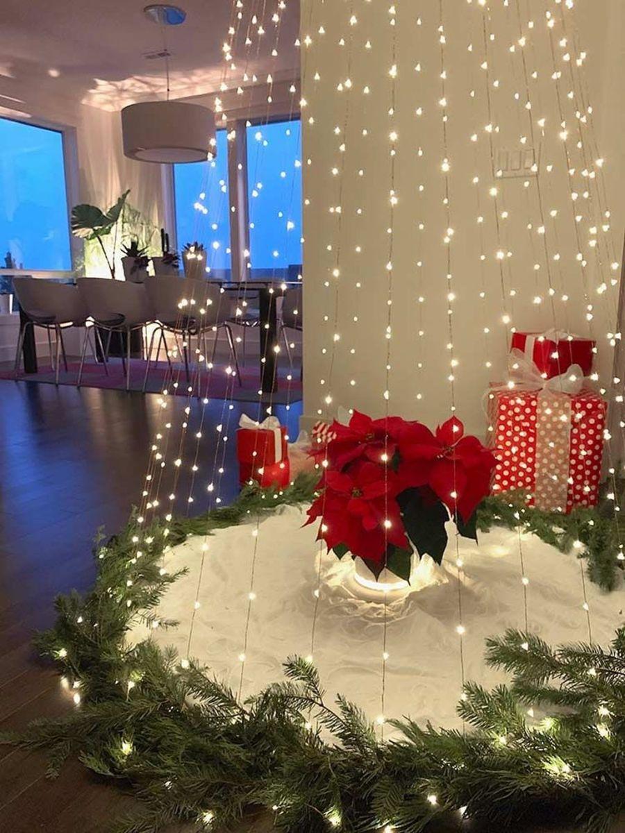 Amazing Christmas Lights Tree Decoration Ideas 14