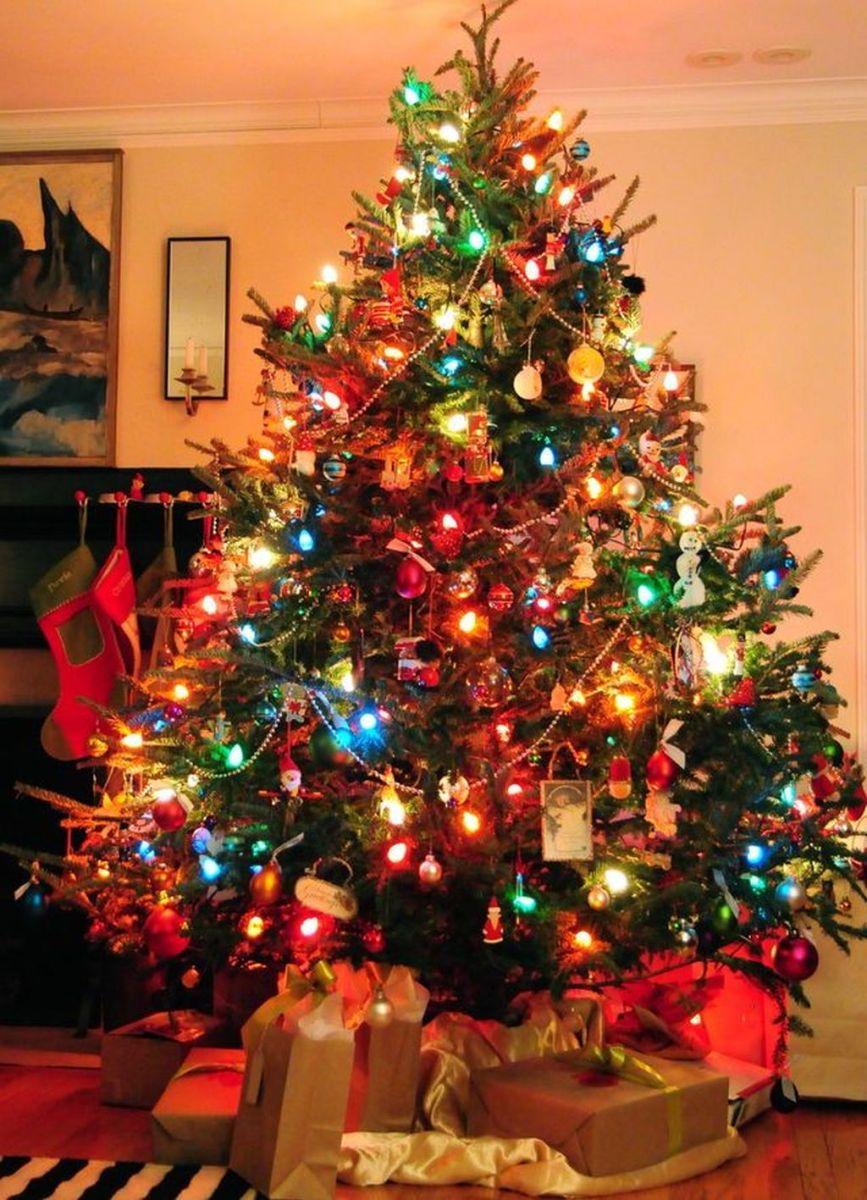 Amazing Christmas Lights Tree Decoration Ideas 37