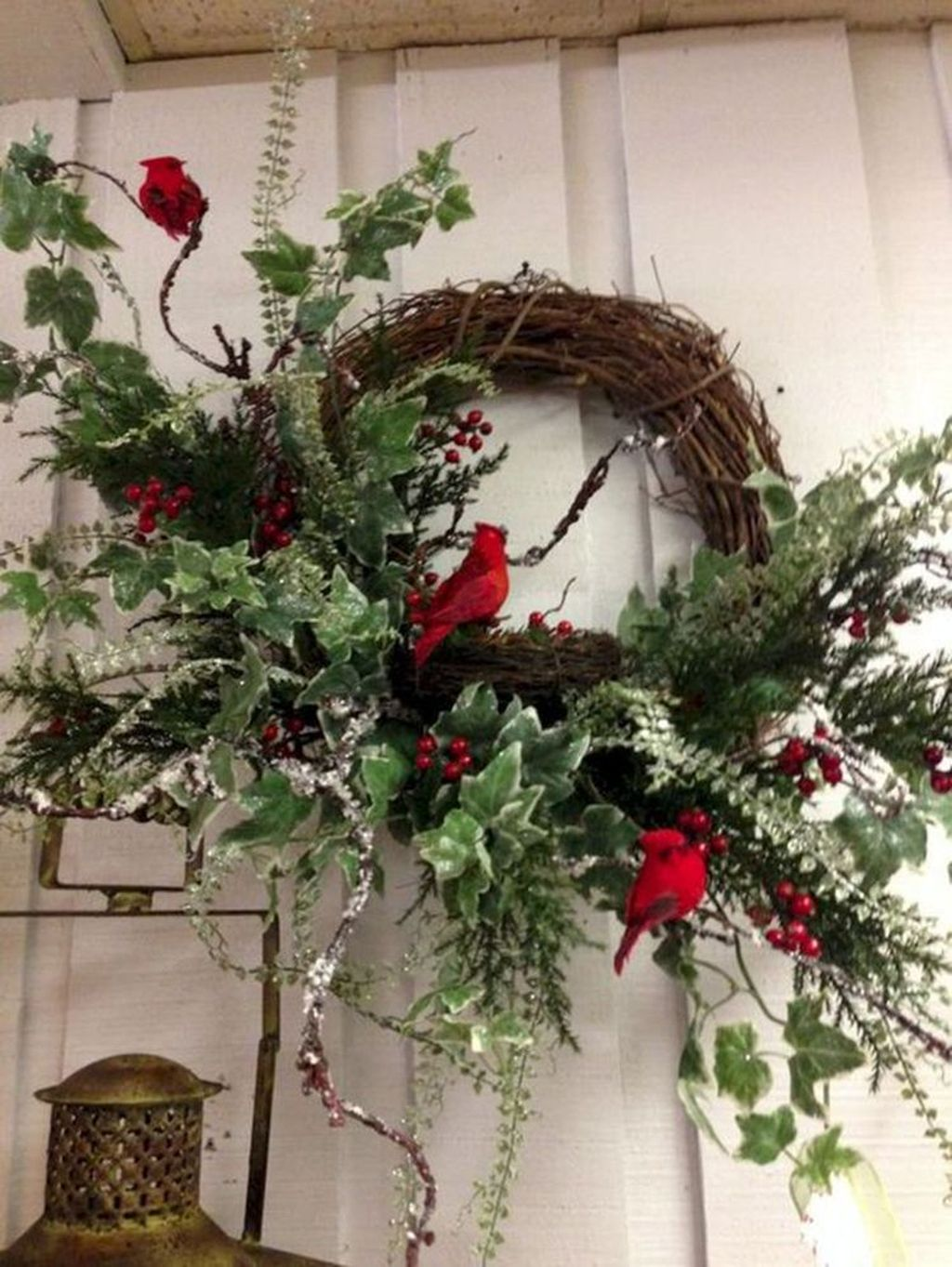 Beautiful Christmas Wreaths Decor Ideas You Should Copy Now 22