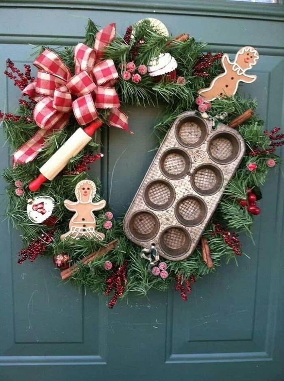 Beautiful Christmas Wreaths Decor Ideas You Should Copy Now 29