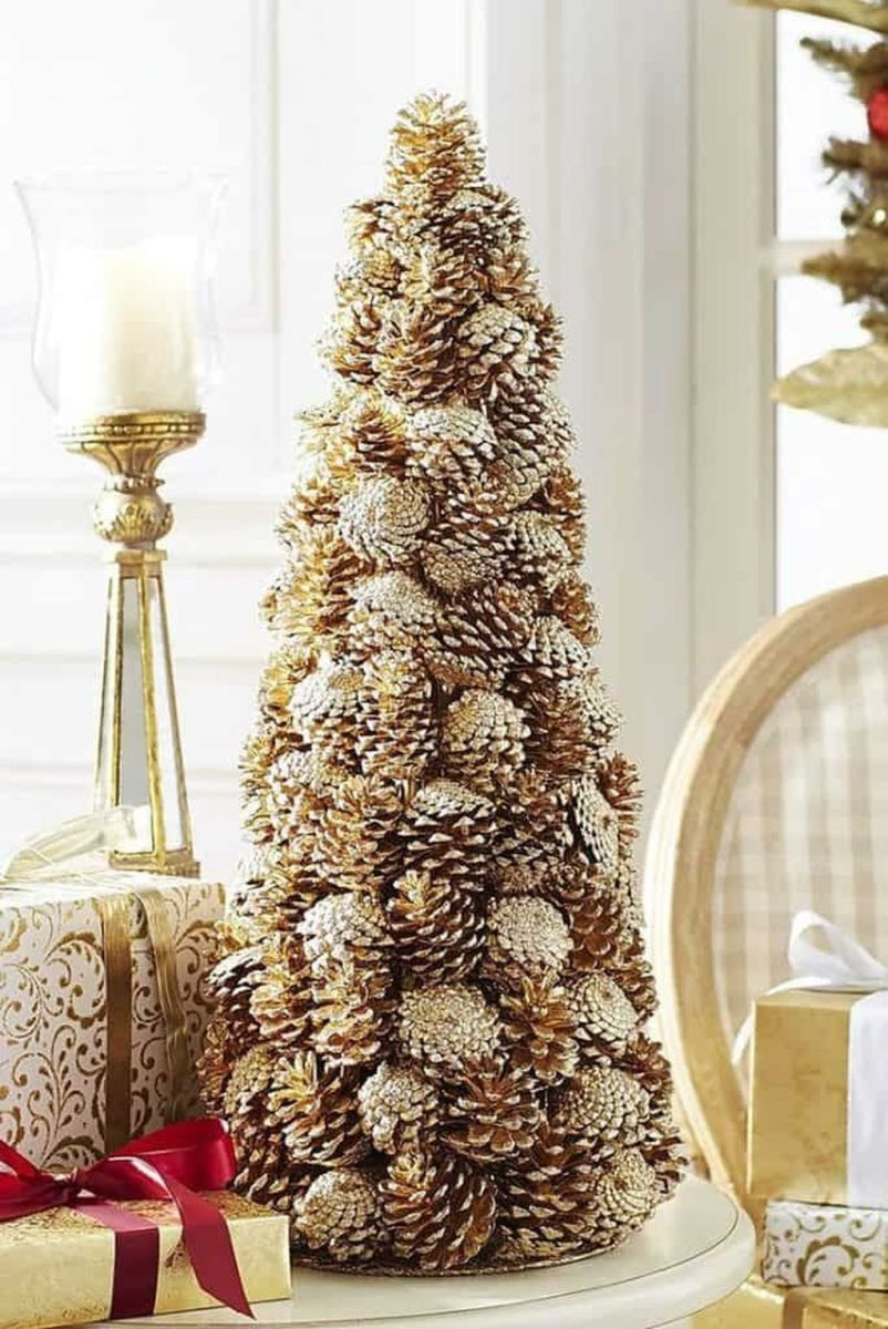 Fabulous Christmas Pine Cone Decorations 08