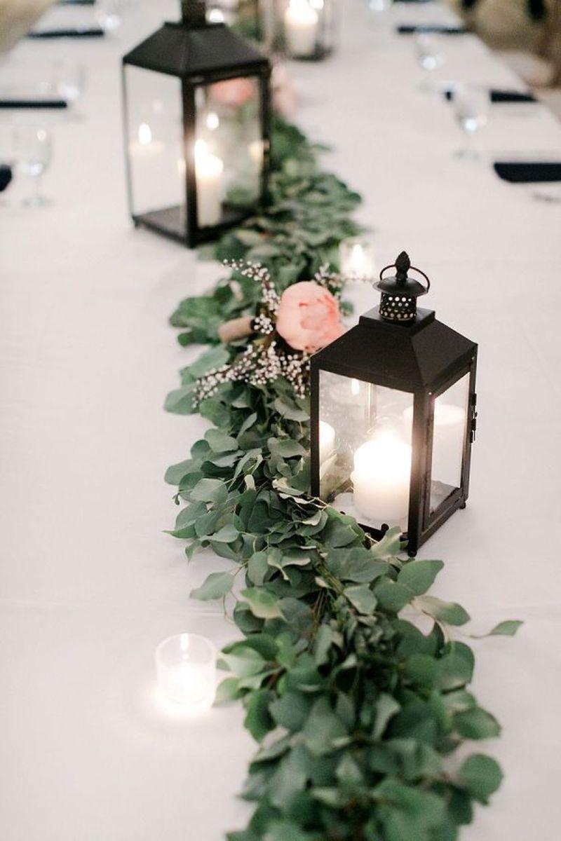 Fabulous Winter Lantern Centerpieces Ideas 06