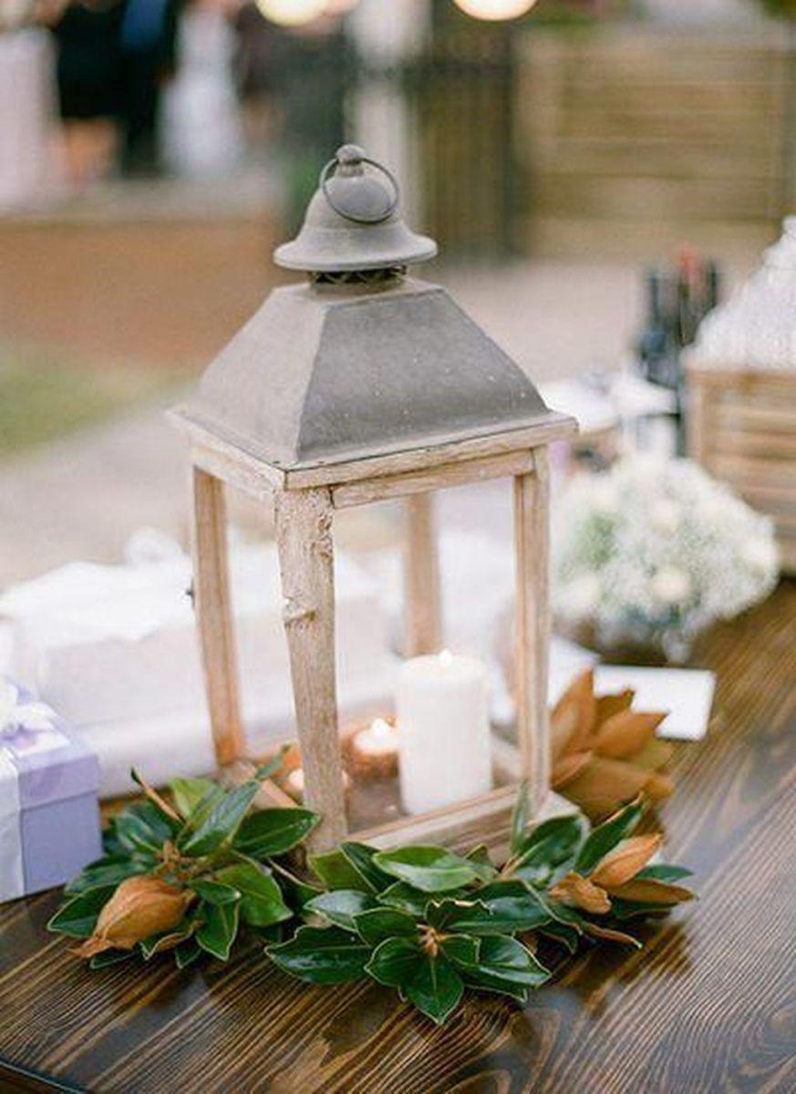 Fabulous Winter Lantern Centerpieces Ideas 24