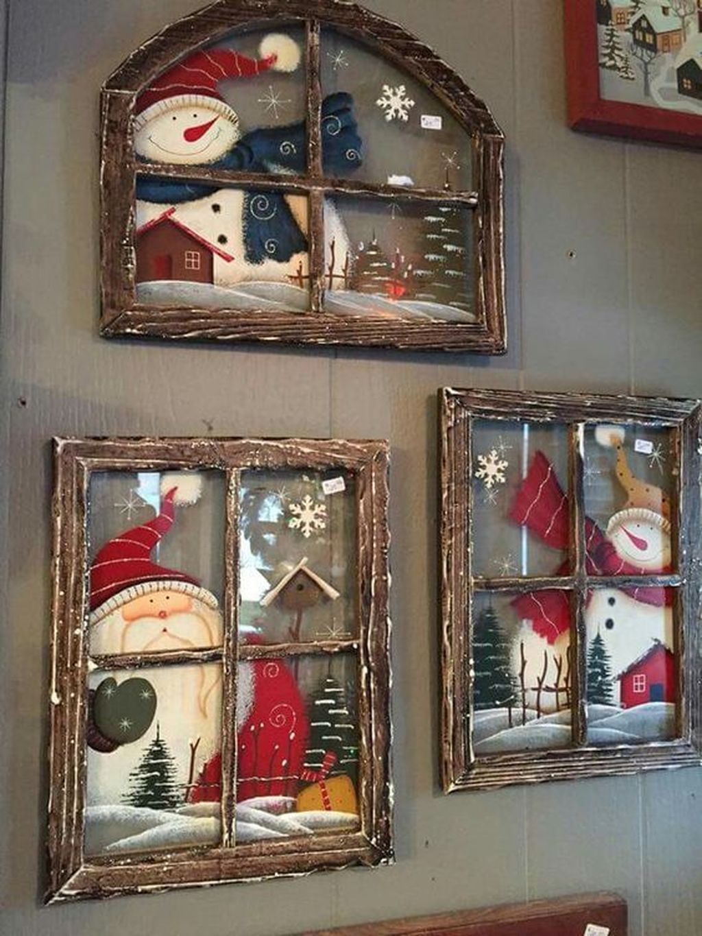 Lovely Christmas Wall Decor Ideas For Your Homes 40