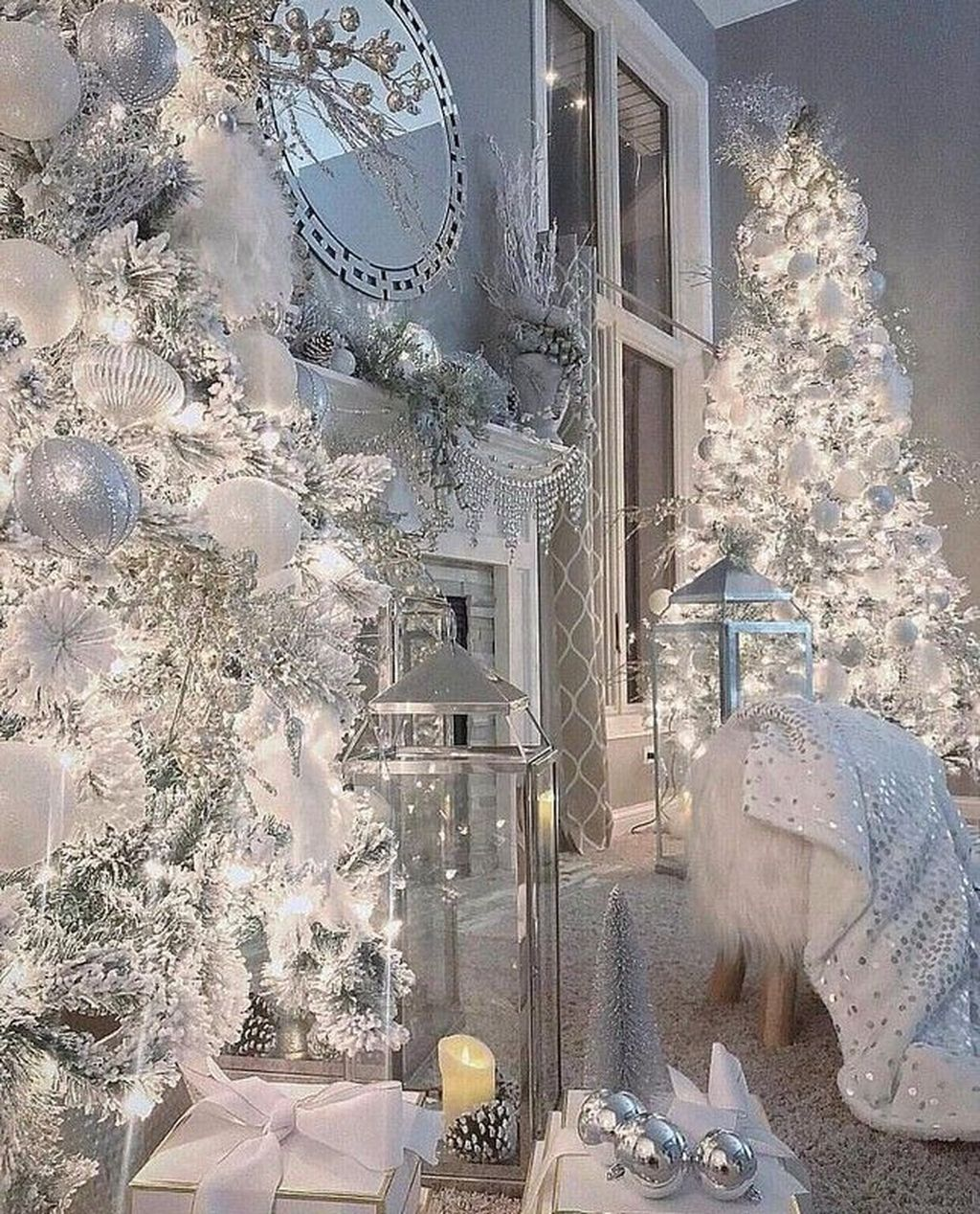 Lovely Winter Wonderland Home Decoration Ideas Look Beautiful 02