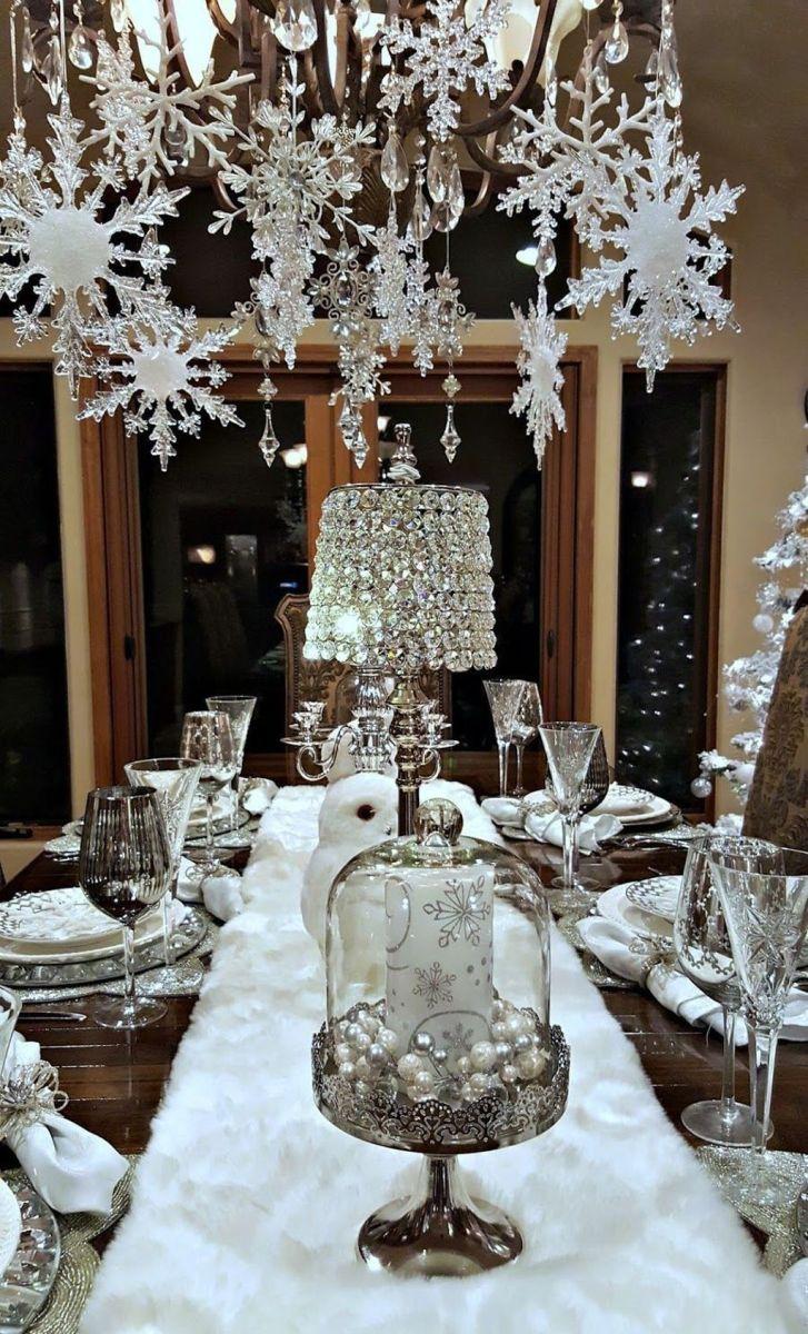 Lovely Winter Wonderland Home Decoration Ideas Look Beautiful 16