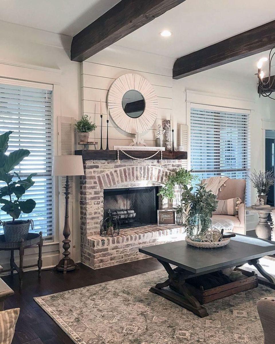 Nice Fireplace Decor Ideas Best For Wintertime 13