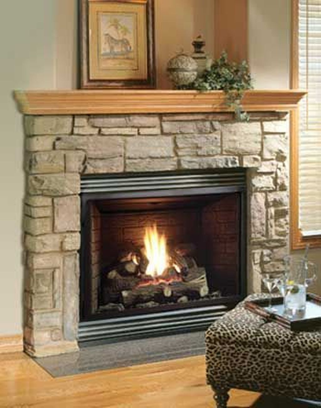 Nice Fireplace Decor Ideas Best For Wintertime 17