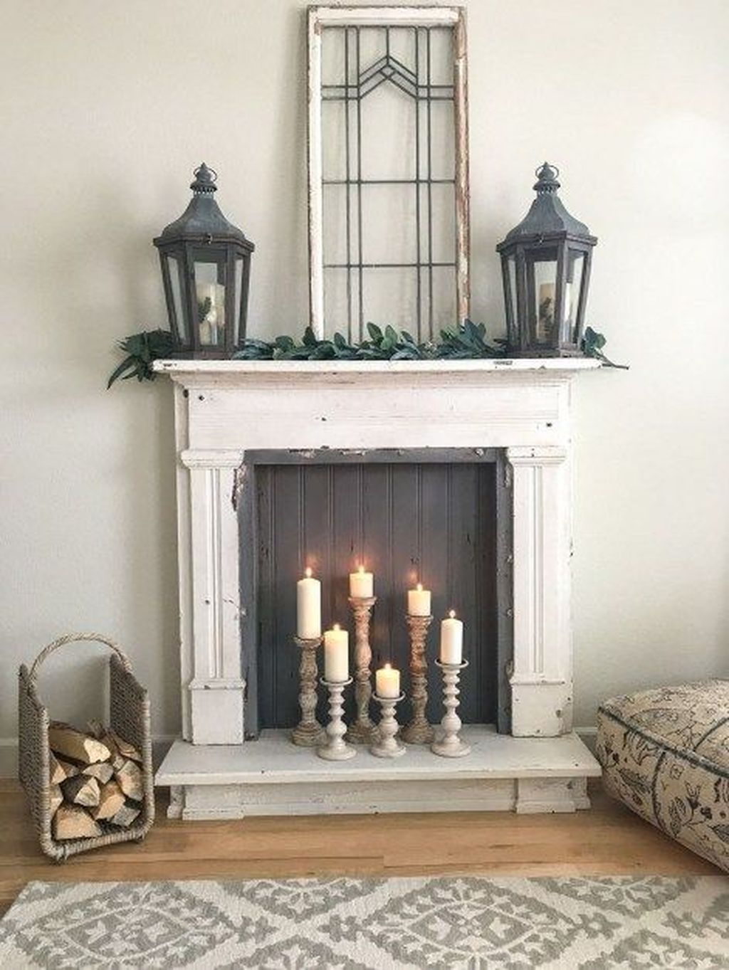 Nice Fireplace Decor Ideas Best For Wintertime 25