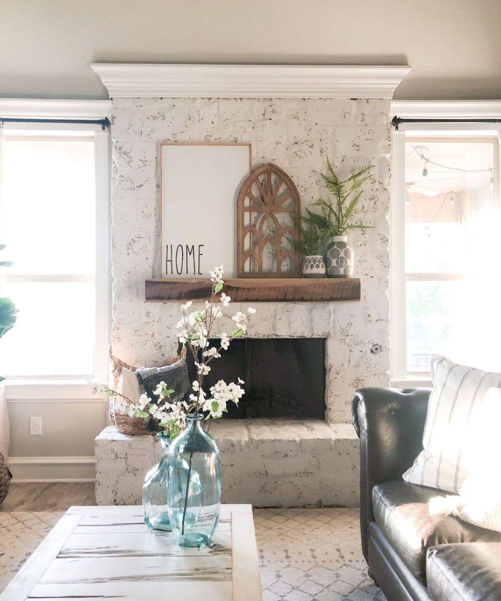 Nice Fireplace Decor Ideas Best For Wintertime 27