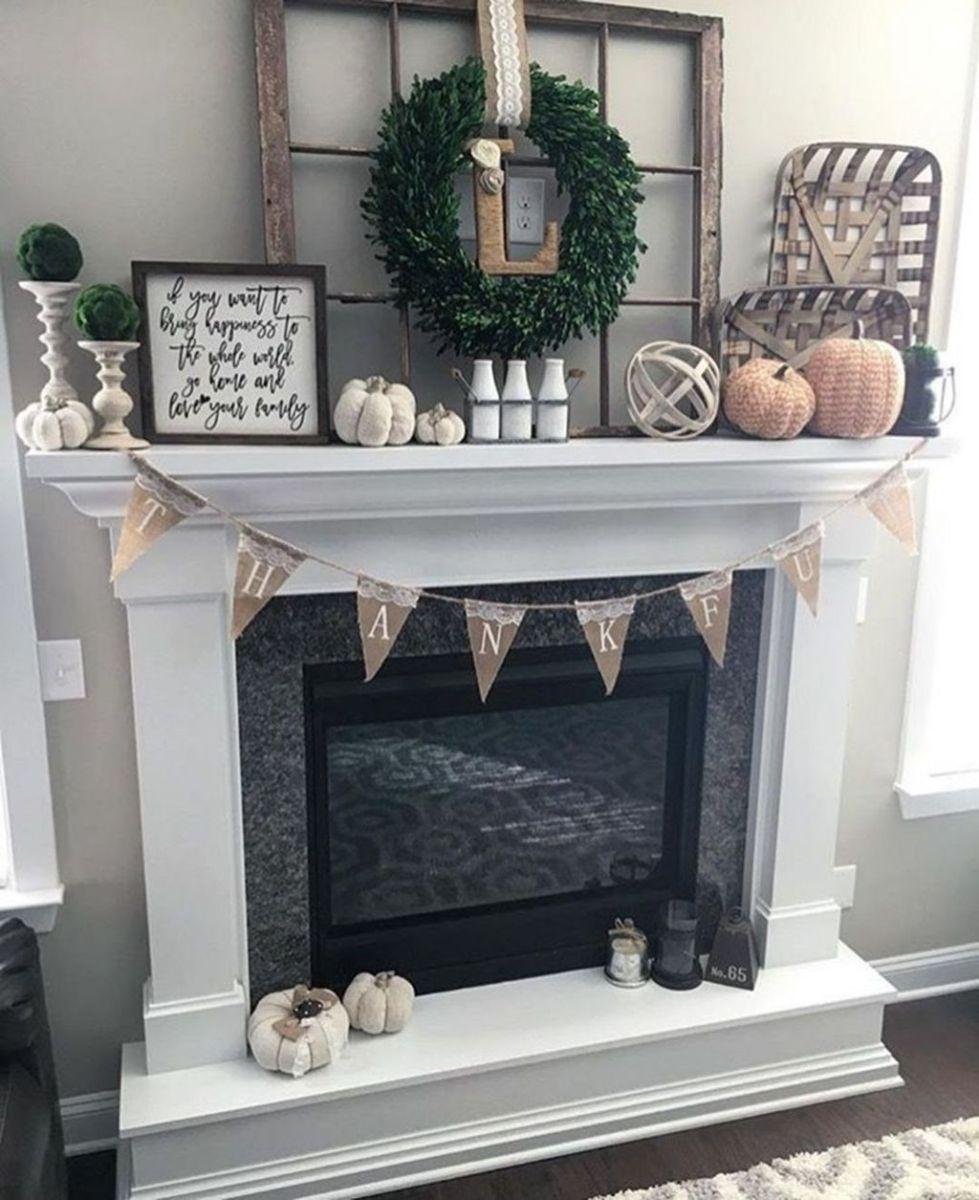 Nice Fireplace Decor Ideas Best For Wintertime 28