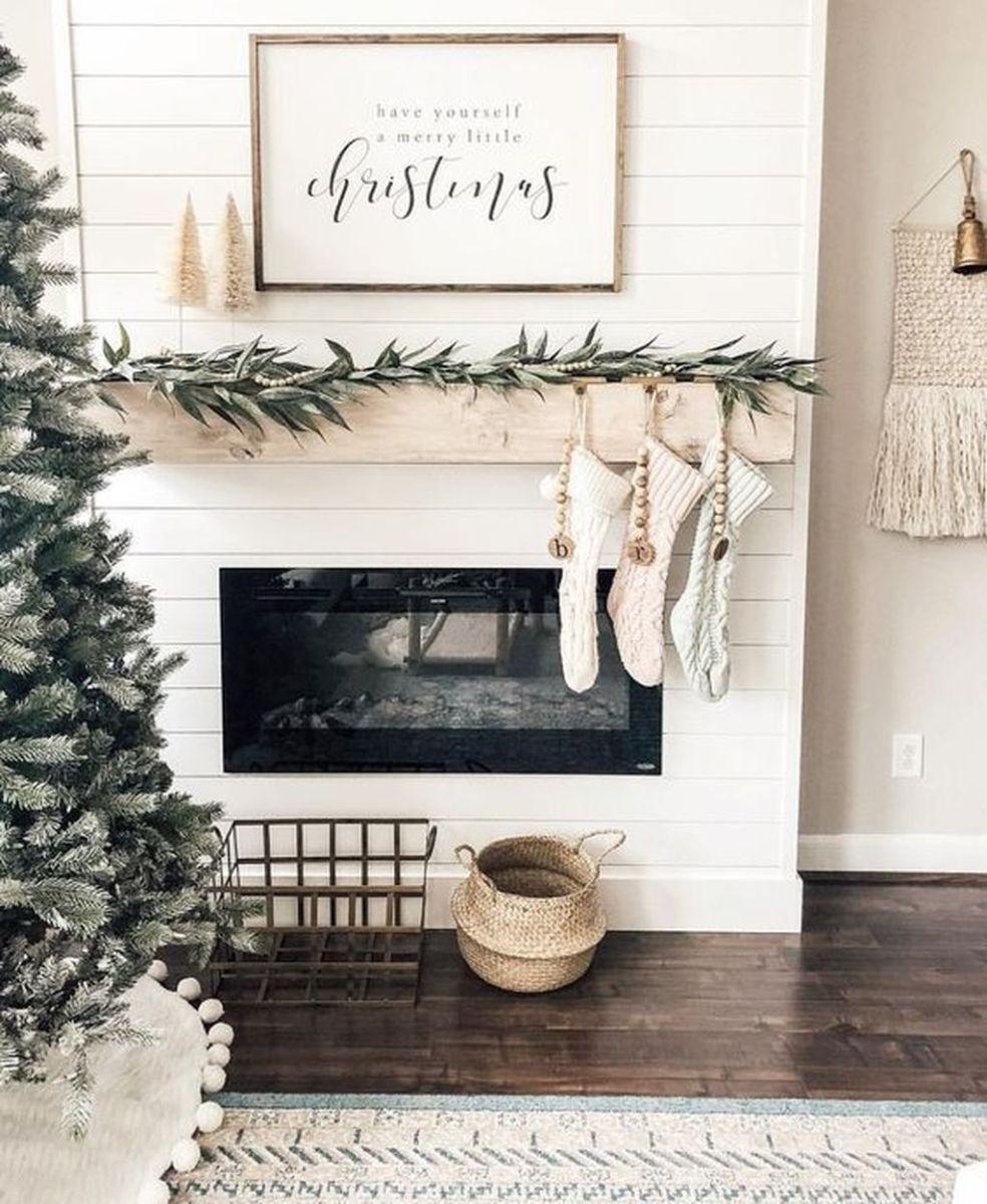 Nice Fireplace Decor Ideas Best For Wintertime 29
