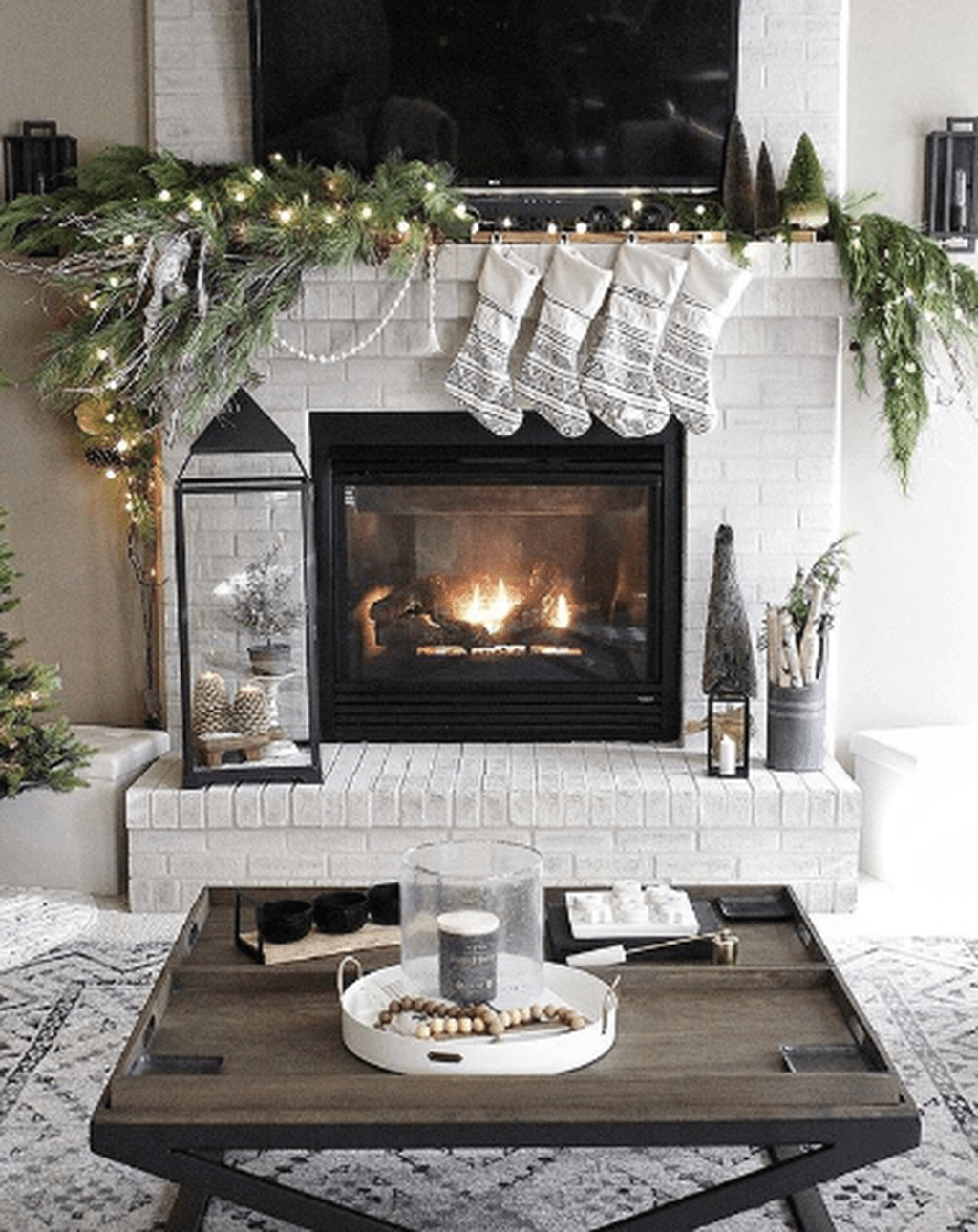 Nice Fireplace Decor Ideas Best For Wintertime 47
