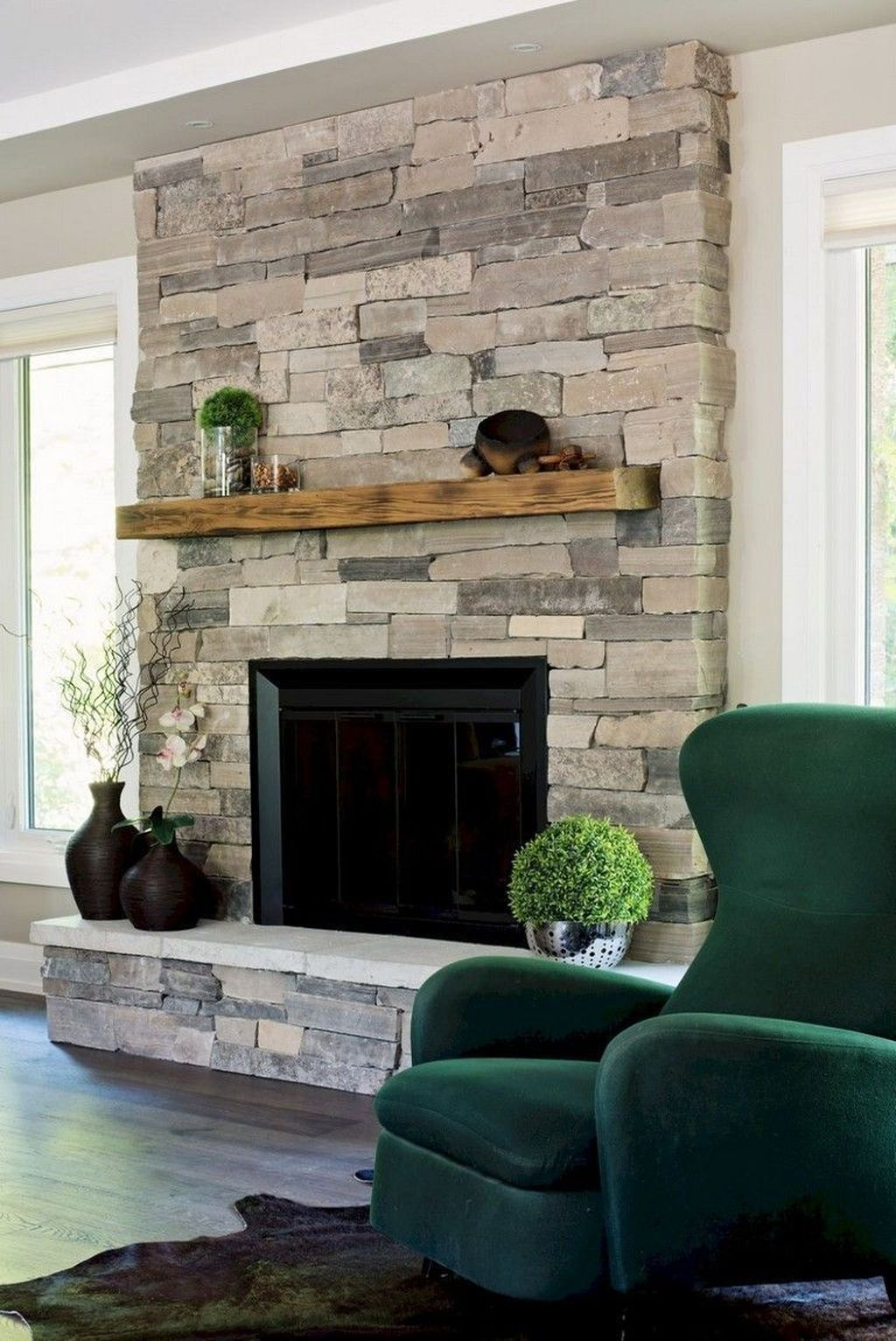 Nice Fireplace Decor Ideas Best For Wintertime 48
