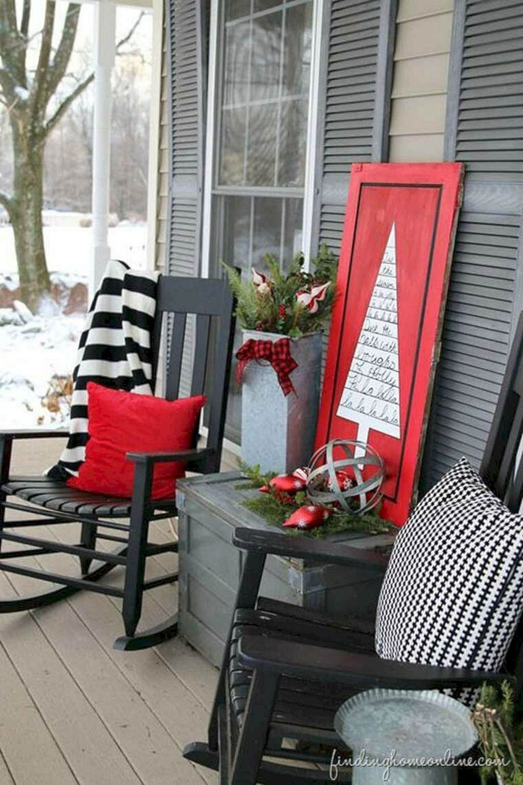 Nice Outdoor Christmas Decorations Perfect For This Winter 02
