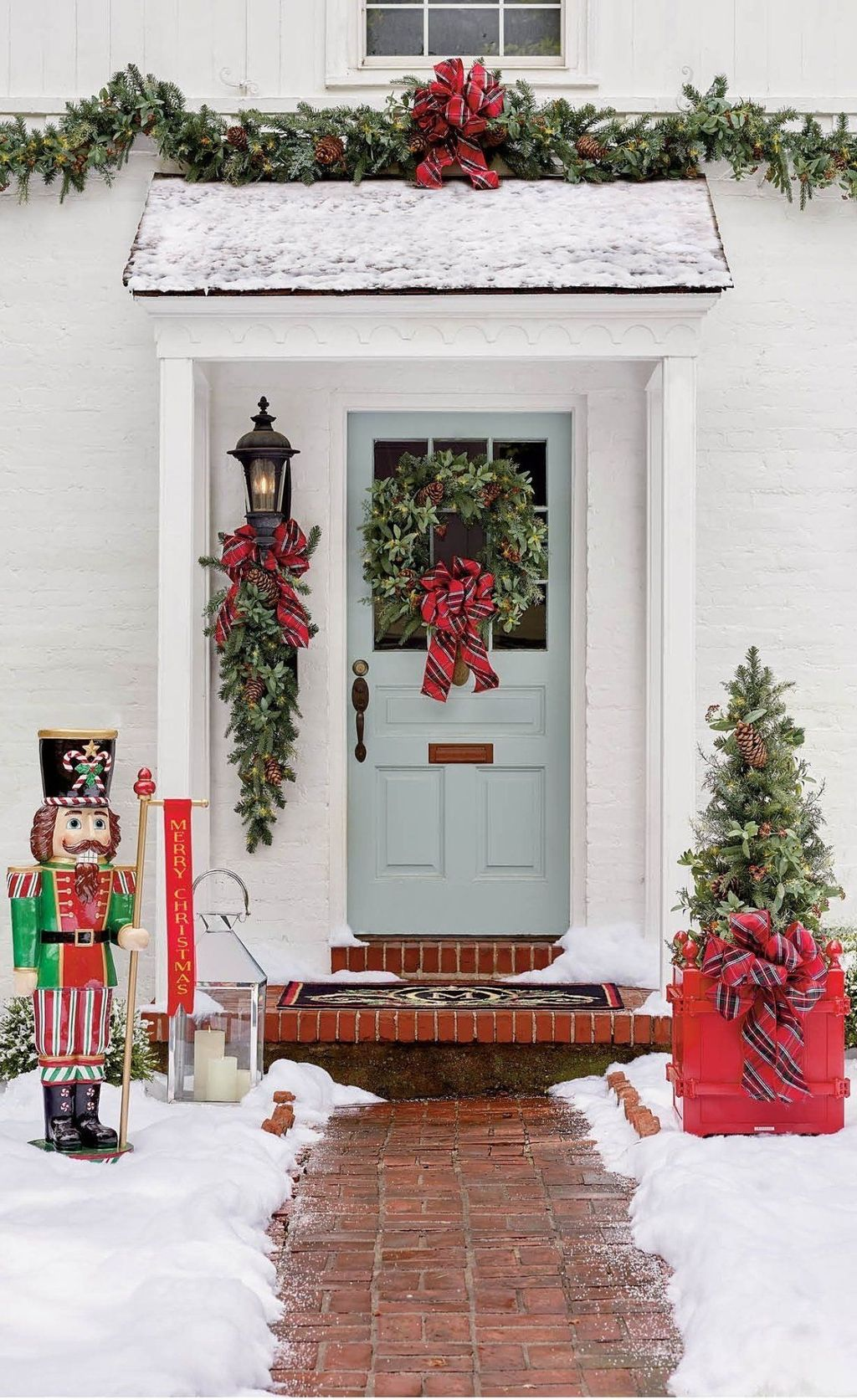 Nice Outdoor Christmas Decorations Perfect For This Winter 17