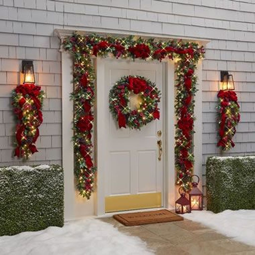 Nice Outdoor Christmas Decorations Perfect For This Winter 21