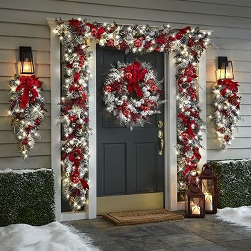 Nice Outdoor Christmas Decorations Perfect For This Winter 22