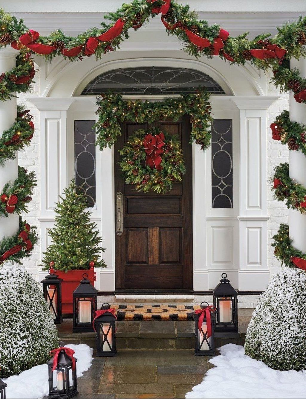 Nice Outdoor Christmas Decorations Perfect For This Winter 42