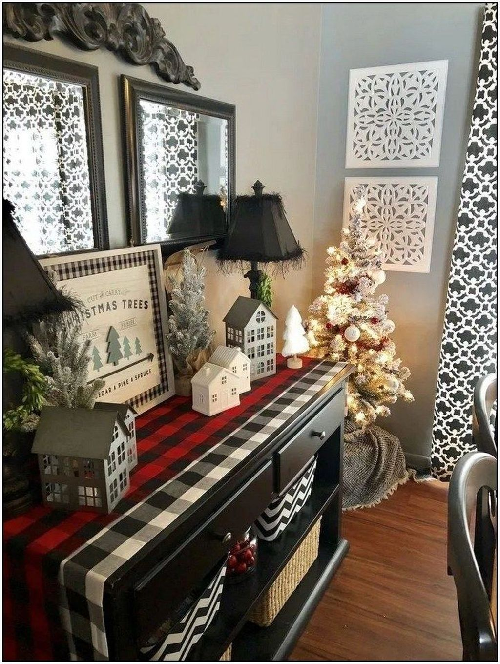 Popular Christmas Theme Apartment Decorations 20