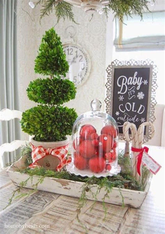 Stunning Winter Theme Kitchen Decorating Ideas 01
