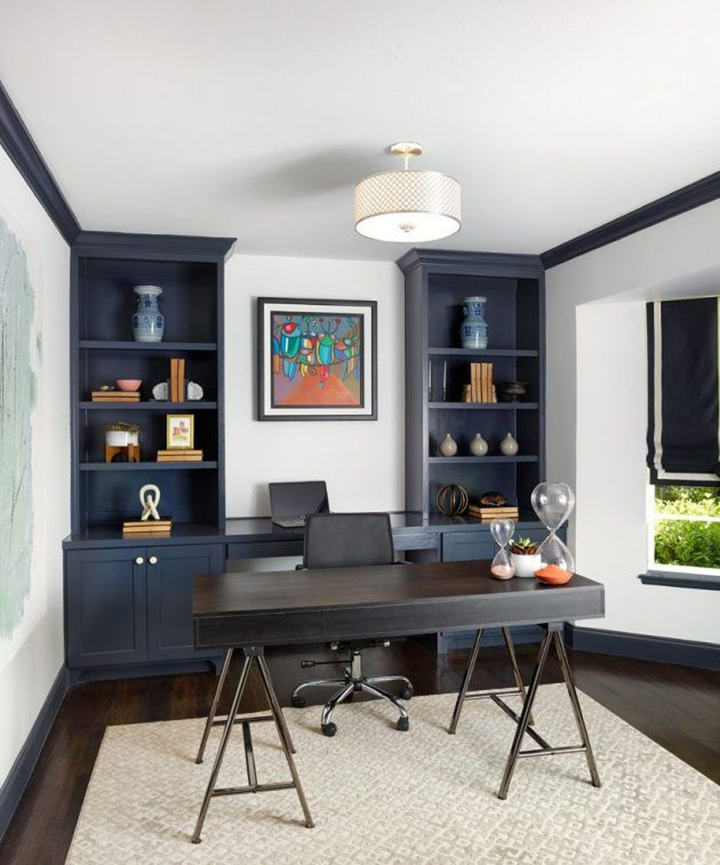 Admirable Modern Home Office Design Ideas That You Like 06
