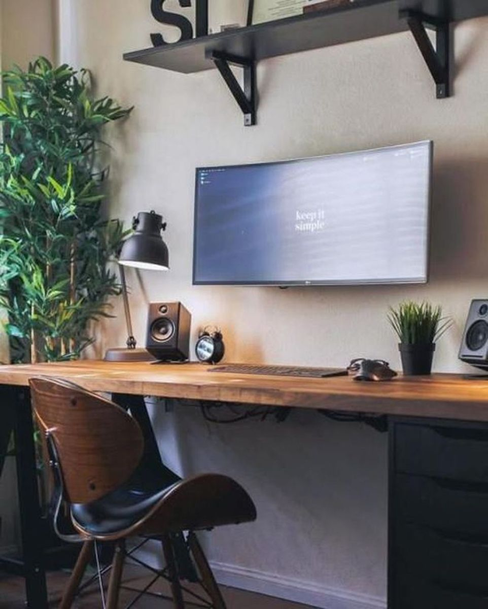 Admirable Modern Home Office Design Ideas That You Like 10