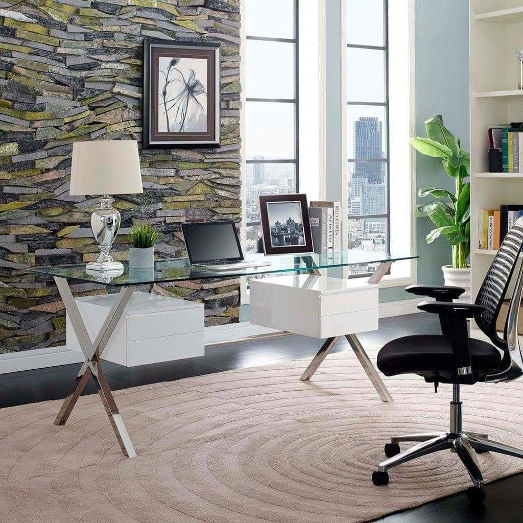 Admirable Modern Home Office Design Ideas That You Like 12