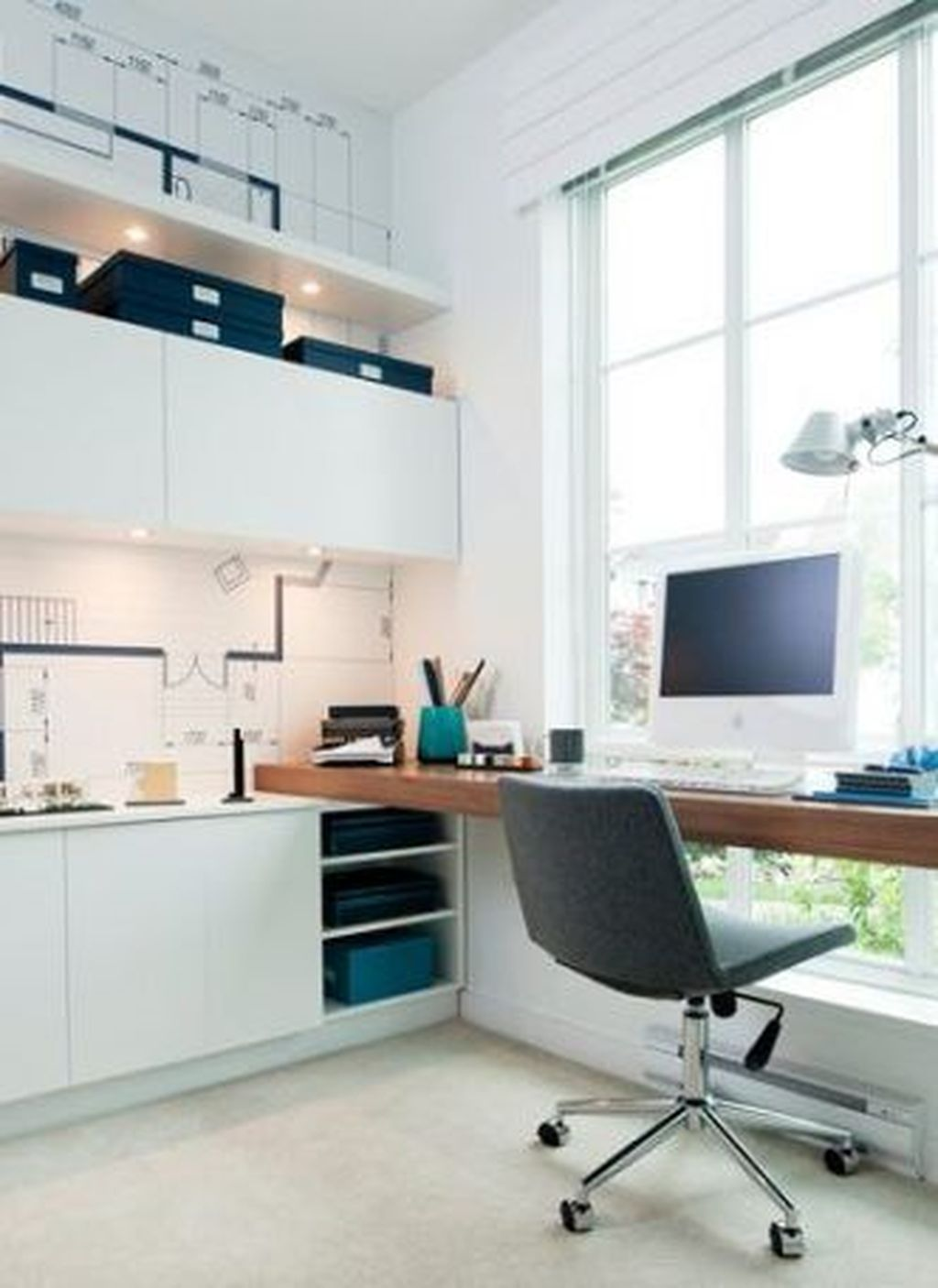 Admirable Modern Home Office Design Ideas That You Like 20
