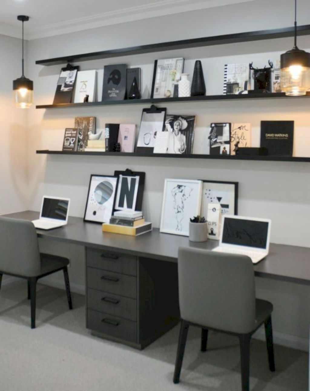 Admirable Modern Home Office Design Ideas That You Like 28