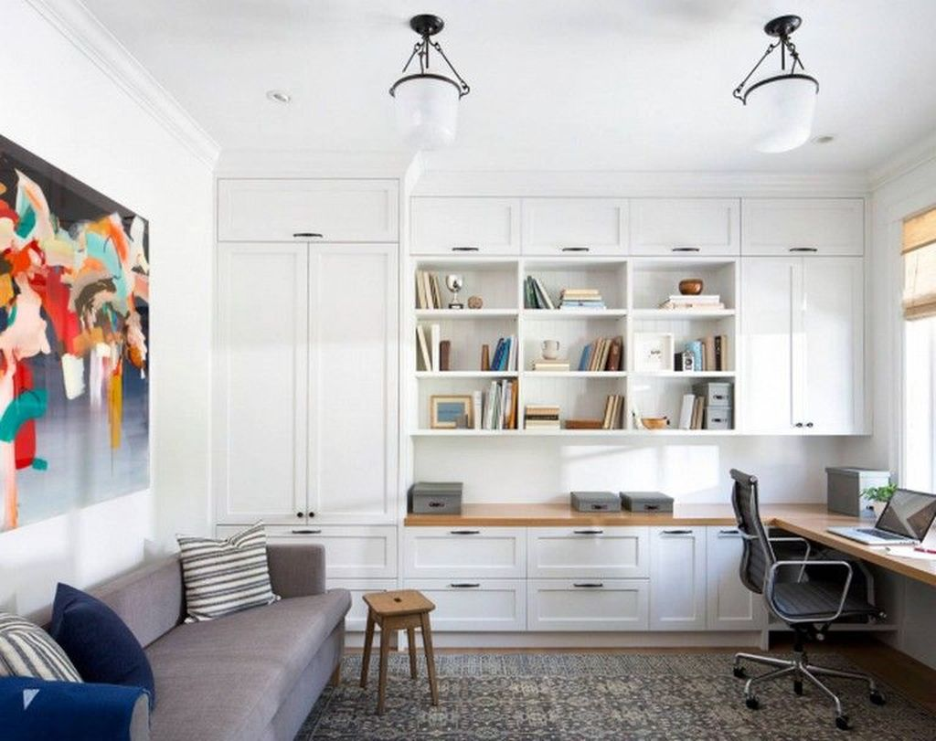 Admirable Modern Home Office Design Ideas That You Like 29